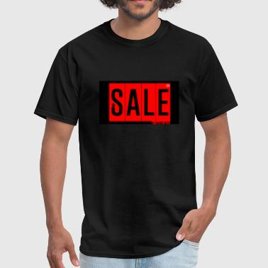 Sale by Shawn West Mode Trend RED black - Men's T-Shirt