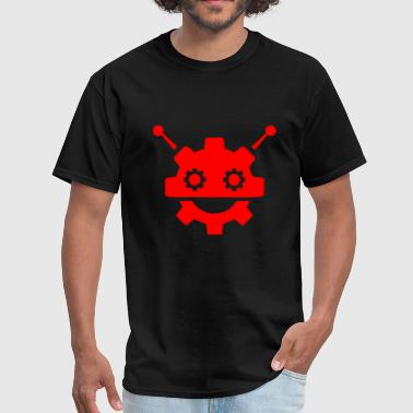 Lever robot engine controller - Men's T-Shirt