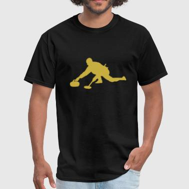 Curling - curling sport curler - Men's T-Shirt