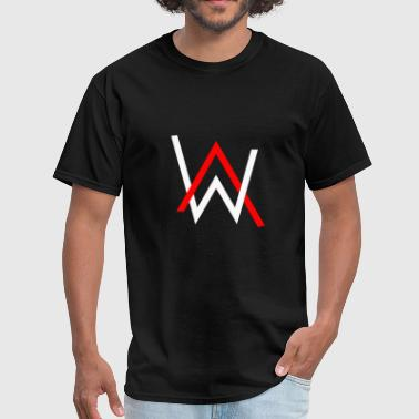 Tiesto alan walker logo 4k qhd 2048x1152 vectorized - Men's T-Shirt