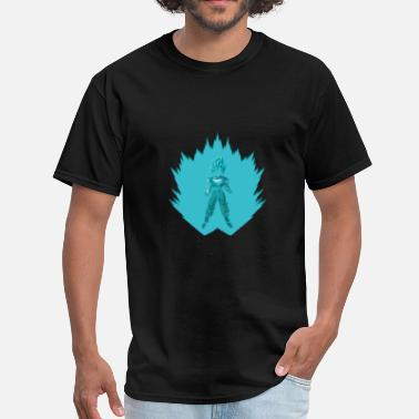 Saiyan Blue Super Saiyan Blue Goku - Men's T-Shirt