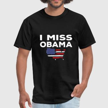 Rest in peace - i miss obama - democrat peaceful - Men's T-Shirt