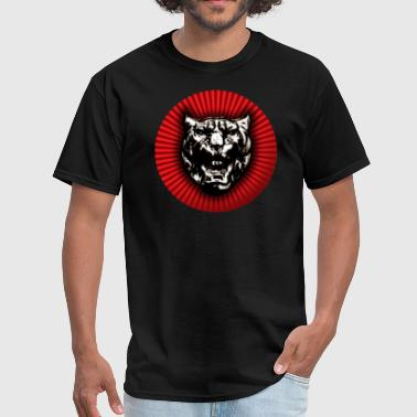 Jaguar Car Vintage style Jaguar head emblem - Men's T-Shirt