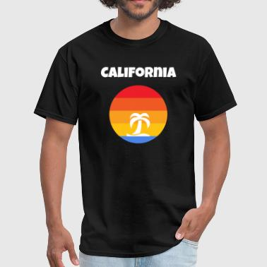 San Diego Beach California California Tropical Sunshine - Men's T-Shirt