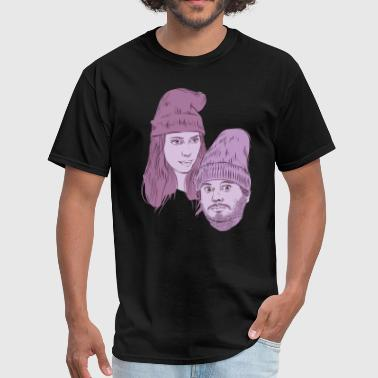Hila and Ethan from h3h3productions - Men's T-Shirt