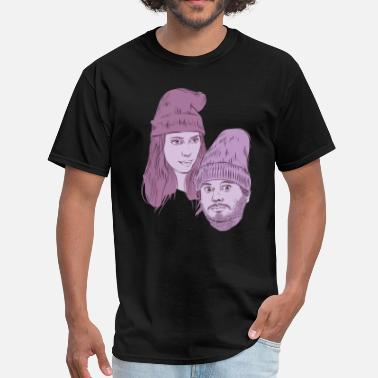 Ethan And Hila Hila and Ethan from h3h3productions - Men's T-Shirt