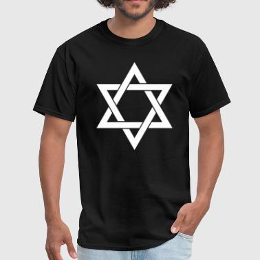 Star of David Judaism Isr - Men's T-Shirt