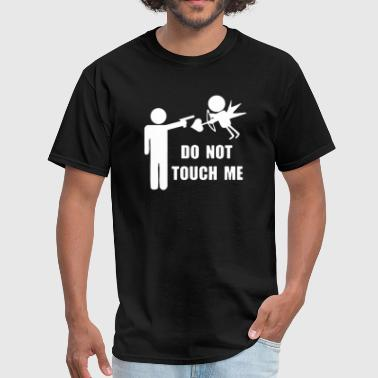 Touched By An Angel Do Not Touch Me Amor Angel - Men's T-Shirt