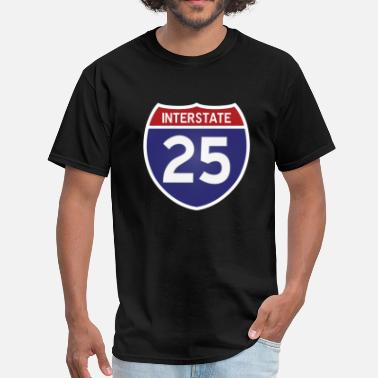 Interstate I-25 - Men's T-Shirt