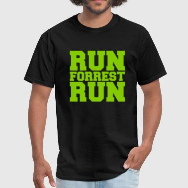Bubba RUN FORREST RUN (Forrest Gump) - Men's T-Shirt