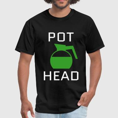 Graffiti Word Sexy Design Pot Head - Men's T-Shirt