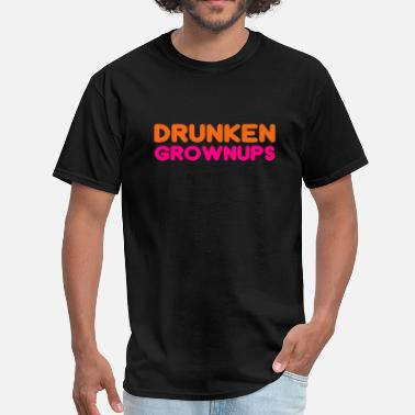 Funny Running Alcohol Funny parody about alcohol - Men's T-Shirt