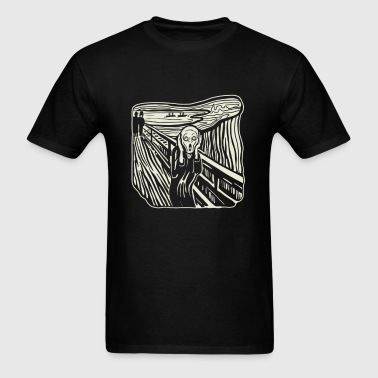 The Scream - Men's T-Shirt