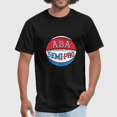 Semi-pro Semi Pro ABA Tropics Moon - Men's T-Shirt