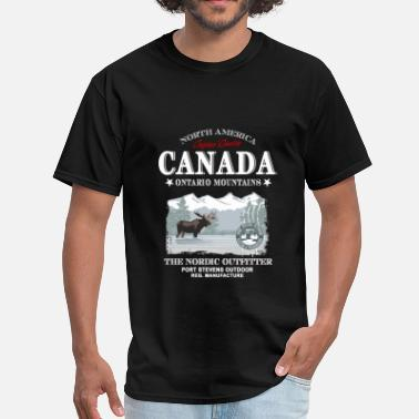 Canada Moose Moose - Canada - Men's T-Shirt