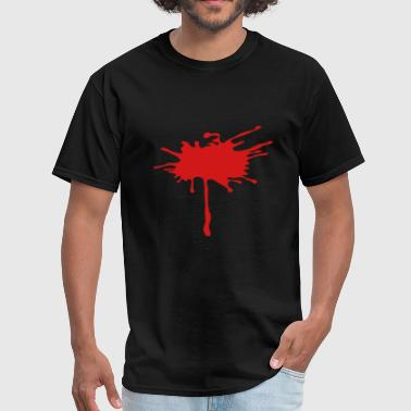 Splash Blood Splatter Blood Paint Splatter 1c - Men's T-Shirt