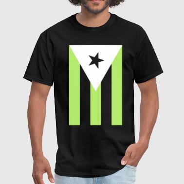 Boricua Pride Boricua Flag - Men's T-Shirt