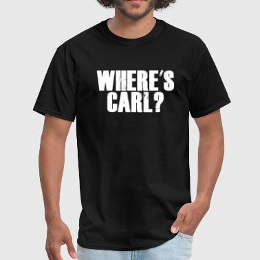 Carl Grimes TWD Where's Carl? - Men's T-Shirt