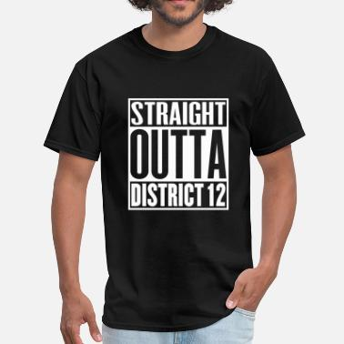 District 12 Straight Outta District 12 - Men's T-Shirt