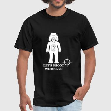 Let's Shoot Wombles - Men's T-Shirt