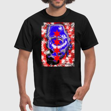 Michael Myers Chicago Flag - Men's T-Shirt