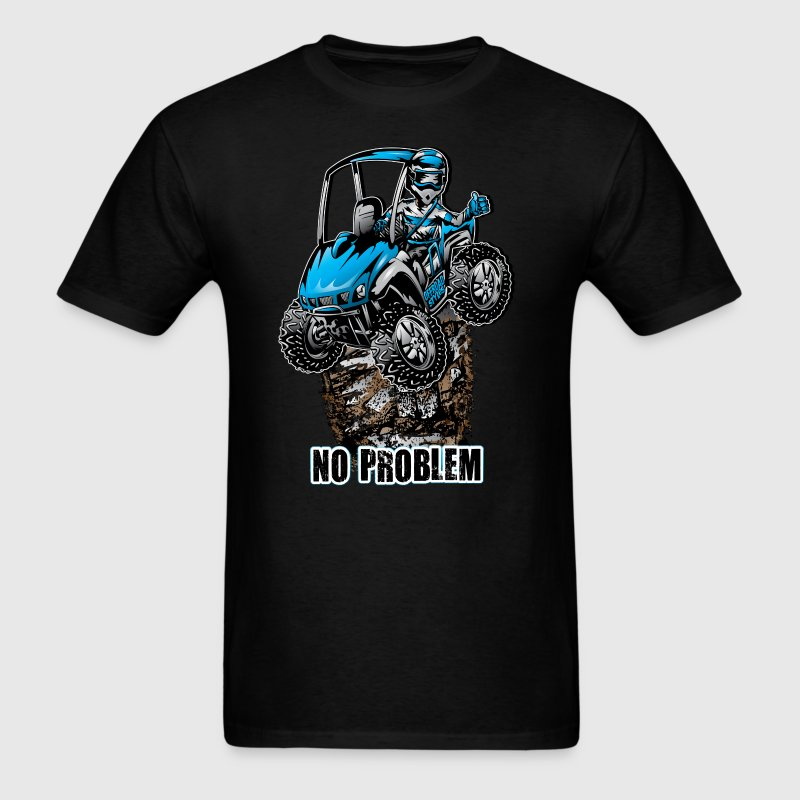 UTV SxS No Problem Blue - Men's T-Shirt