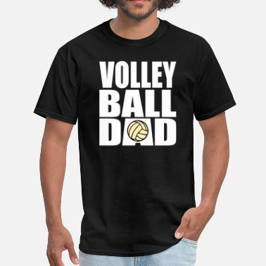 Mens Volleyball Volleyball Dad - Men's T-Shirt