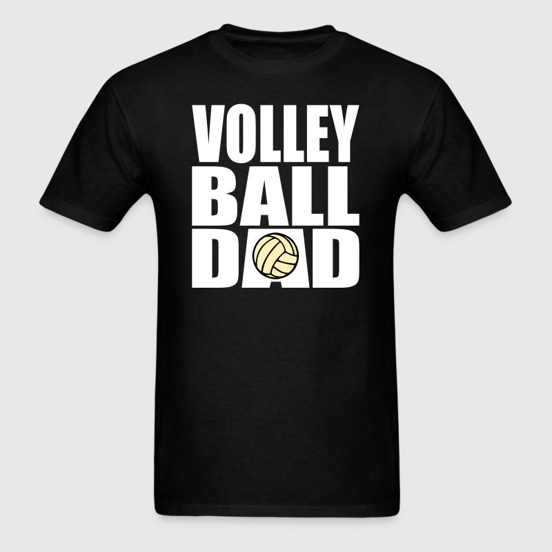 Volleyball Dad - Men's T-Shirt