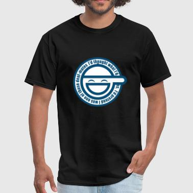 Ghost In The Shell Laughing Man Ghost The Shell Laughing Man - Men's T-Shirt