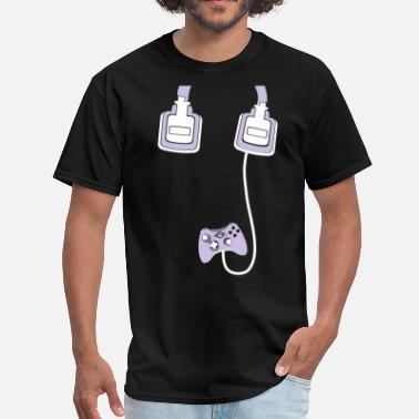 Mlg Headphones - Men's T-Shirt