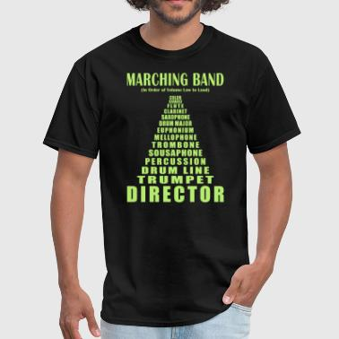 Color Guard Marching Band Volume - Men's T-Shirt