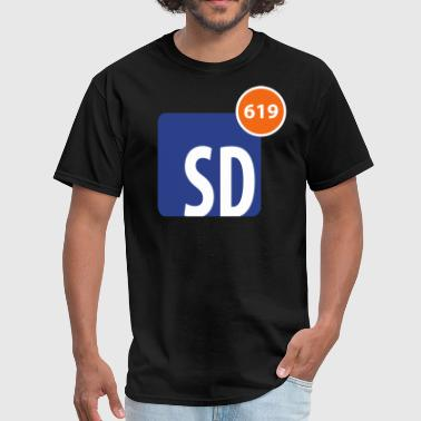 619 Notifications - Men's T-Shirt