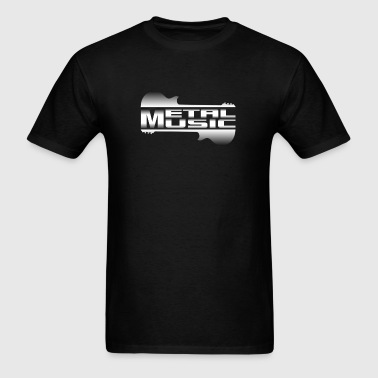 metal music - Men's T-Shirt