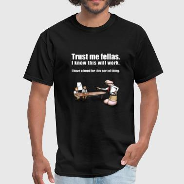 Head for Business - Men's T-Shirt