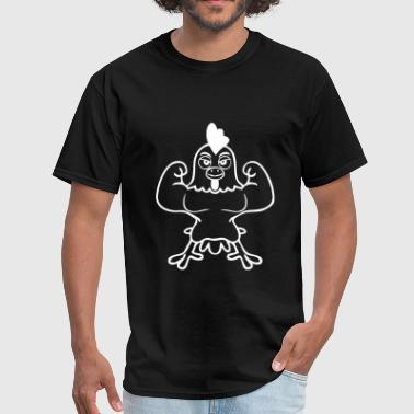 Strong Chickcen - Men's T-Shirt