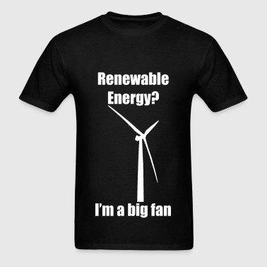 Renewable Energy (White) - Men's T-Shirt