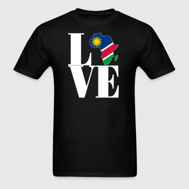I LOVE NAMIBIA - Men's T-Shirt