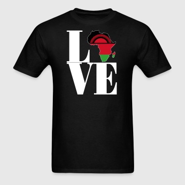 I LOVE MALAWI - Men's T-Shirt