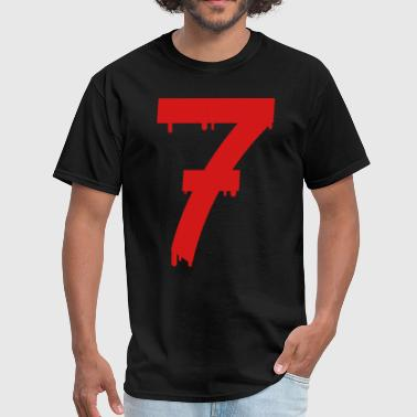 lucky number seven - Men's T-Shirt