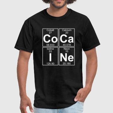 Co-Ca-I-Ne (cocaine) - Full - Men's T-Shirt