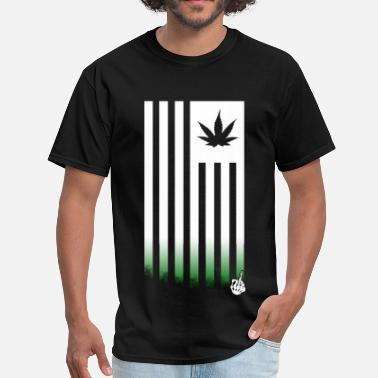 420 Flag 2 - Men's T-Shirt