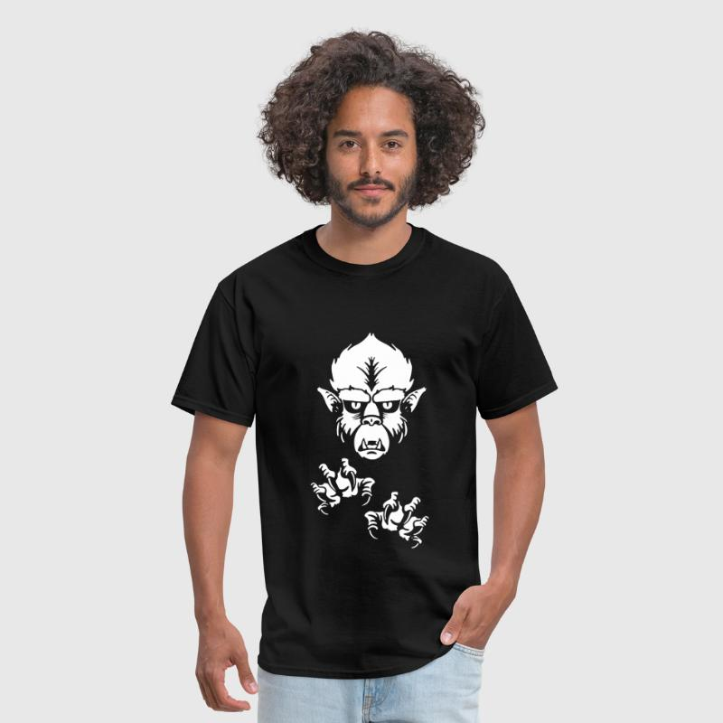 The Wolfman - Men's T-Shirt