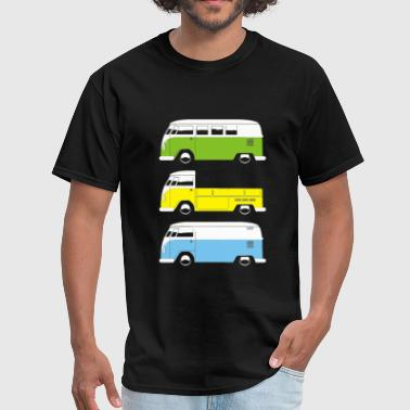 CAMPER BUS PICK UP VAN - Men's T-Shirt
