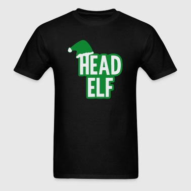 Christmas Head Elf - Men's T-Shirt