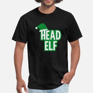7496d66f1 Christmas Head Elf - Men's T-Shirt