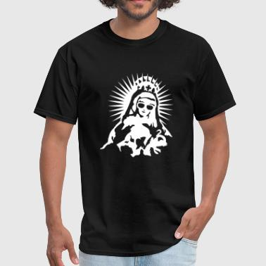Virgin Mary with a pair of sunglasses - Men's T-Shirt