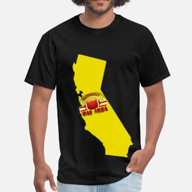 Bay Area California Bay Area - Men's T-Shirt