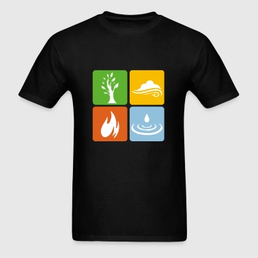Four Elements - Men's T-Shirt