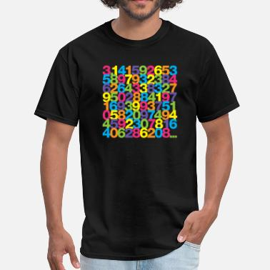 Rainbow Pi Pi shirt - Rainbow unisex tee - Men's T-Shirt