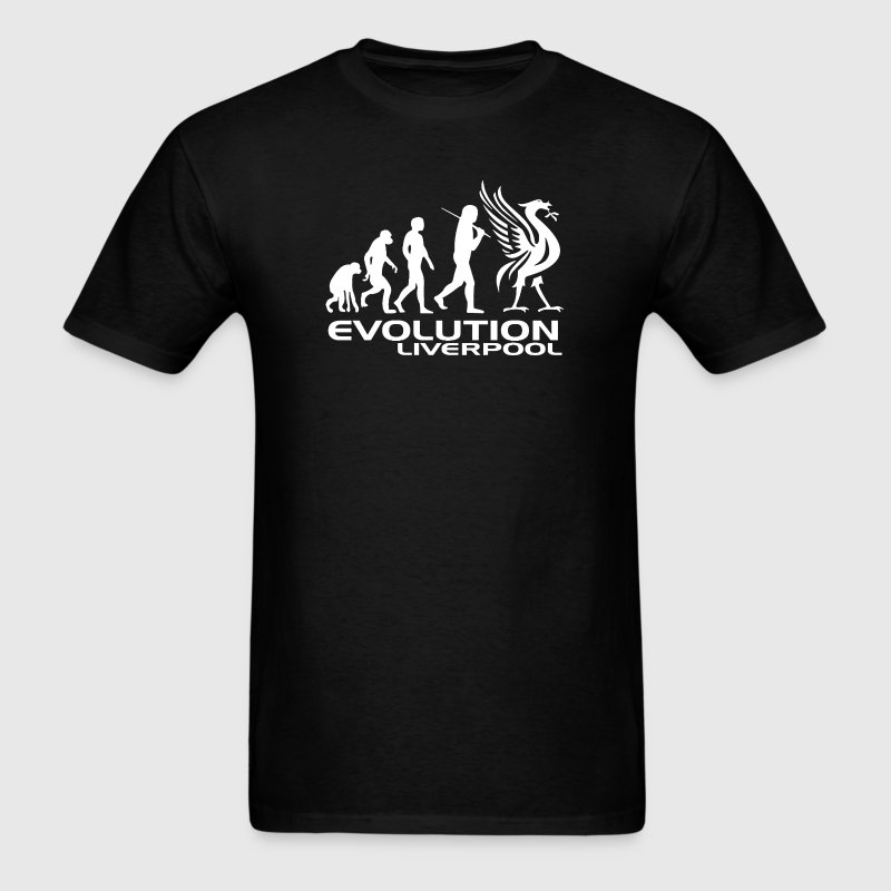 Liverpool Evolution - Men's T-Shirt